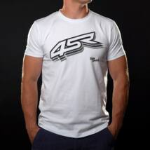 T shirt Logo White L