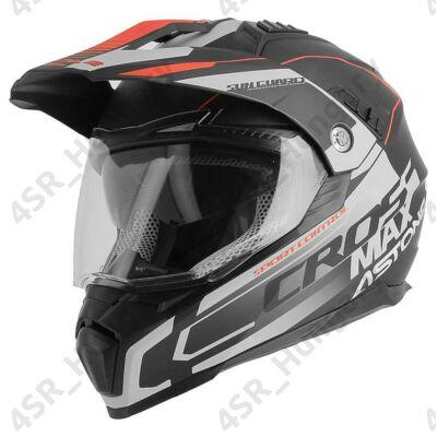 motocross-helmet-cross-enduro-astone-crossmax-road-matt-black-gray-red