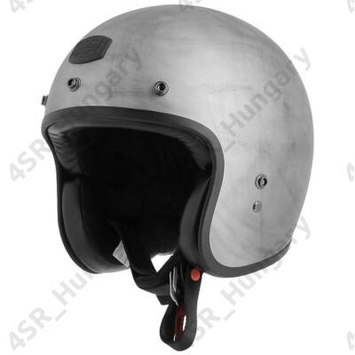 motorcycle-helmet-vintage-jet-astone-bellair-dirty-matt-gray