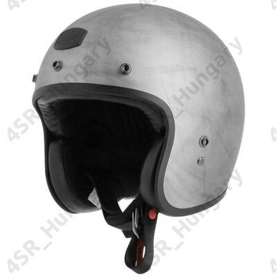 motorcycle-helmet-vintage-jet-astone-bellair-dirty-matt-gray