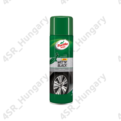 Turtle Wax GL Wet N Black gumiápoló aerosol 500 ml